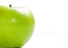 pommes vertes peu Photographie stock