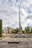 Pomników żołnierzy spadać Wielka Patriotyczna wojna anna Rosja Zdjęcia Royalty Free