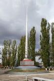 Pomników żołnierzy spadać Wielka Patriotyczna wojna anna Rosja Zdjęcia Stock