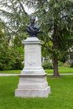Pomnik Alexandre Calame Obraz Royalty Free