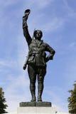 Pomnik amerykan wolontariuszów, honorów WWI żołnierza i amerykanina związek podczas pierwszej wojny światowa, strzał Aug - Paryż, Fotografia Royalty Free