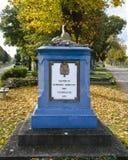 Pomnik dla zabijać saxon żołnierzy obraz stock