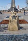 Pomnik gwiazda na spacerze Fotografia Royalty Free