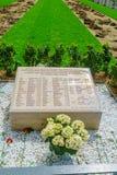 Pomnik holokaust ofiary w Lion, obrazy stock