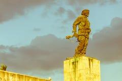 Pomnik i muzeum w Santa Clara Che Guevara był dowódcą w Buntowniczym wojsku który obalał Batista od rzędu w 1959 Ja zdjęcie royalty free
