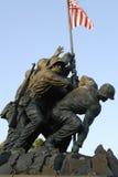 pomnik iwo jimy Fotografia Royalty Free