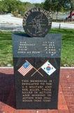 pomnik koreańska wojna Fotografia Royalty Free