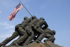 pomnik morski korpusu nas wojenne Obrazy Royalty Free