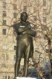 Pomnik Szkocka poeta Robert Burns Fotografia Royalty Free