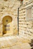 Pomnik w historycznym Nachalat Shiva okręgu, Jerozolima Obraz Royalty Free
