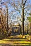 Pomnik w parku zdjęcia royalty free