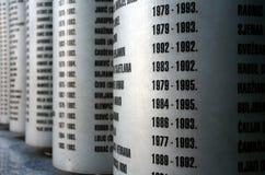 Pomnik w Sarajevo Fotografia Stock