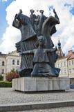 "Pomnik Walki我MÄ™czeÅ ""stwa Ziemi Bydgoskiej -纪念碑在比得哥什 库存图片"