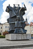 "Pomnik Walki ι stwa Ziemi Bydgoskiej MÄ™czeÅ ""- μνημείο σε Bydgoszcz Στοκ Εικόνα"