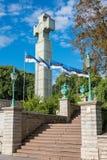 Pomnik wojna o niepodległość Tallinn estonia Fotografia Royalty Free