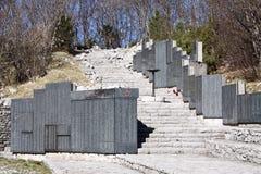 pomnika po drugie wojenny świat Fotografia Stock