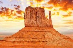 Pomnikowa dolina Zdjęcia Royalty Free