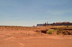 Pomnikowa dolina Raj geologia Obrazy Royalty Free