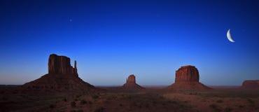 Pomnikowa Dolina unikalny krajobraz, Utah, USA Obraz Royalty Free