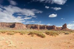 Pomnikowa dolina w Utah, Stany Zjednoczone Ameryka Obrazy Royalty Free