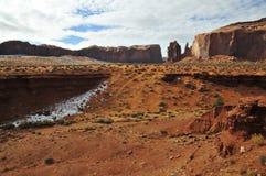 Pomnikowa dolina w zimie Obrazy Royalty Free