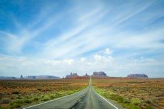 pomnikowa valley road fotografia stock