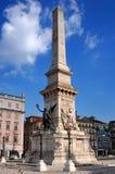 pomnikowi Lisbon restauradores Portugal Zdjęcie Royalty Free