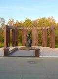 Pomnikowi Saratov mieszkanowie które umierali w lokalnych wojnach Zdjęcia Stock