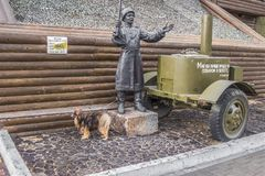 Pomnikowi wojskowych kucharzi Prokhorovka pole, Rosja Obraz Royalty Free