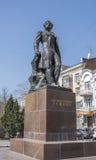 Pomnikowy Aleksander Sergeevich Pushkin na Kwietniu 07; 2016 Obrazy Stock