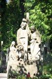 Pomnikowy cmentarz Obraz Royalty Free