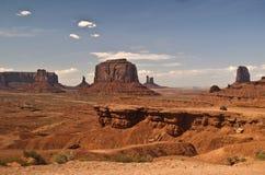 pomnikowy dolinny widok zdjęcia stock