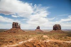 Pomnikowy doliny trzy siostr navajo plemienni 2 obraz royalty free