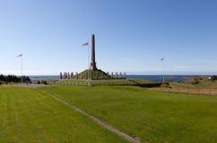 Pomnikowy Haraldskhaugen Haugesund Norwegia Zdjęcie Stock