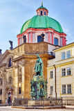 Pomnikowy Karolo kwarto (IV) Obraz Royalty Free