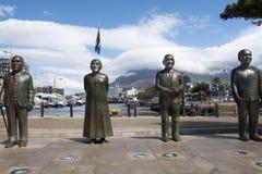 Pomnikowy Nobel kwadrat, Kapsztad fotografia royalty free