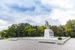 Pomnikowy Ostasului Necunoscut w Timisoara Zdjęcie Stock