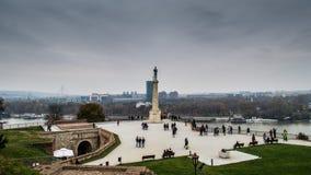 Pomnikowy Pobednik, Belgrade, Serbia Obrazy Royalty Free