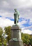 pomnikowy Pushkin Zdjęcia Stock