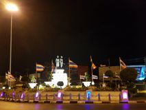 Pomnikowy Thao Thep Kasattri i Thao Sri Sunthon obrazy royalty free