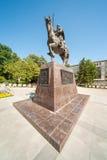 Pomnikowy tsarbyu Kaloyan w Varna Zdjęcia Stock