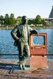 Pomnikowy Vladimir Zworykin - nowator telewizja obrazy royalty free