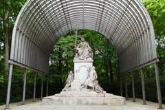 Pomnikowy Wilhelm Richard Wagner w Berlin Obrazy Royalty Free