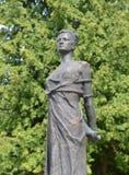 Pomnikowy Zoya Kosmodemyanskaya Radziecka partyzana i bohater sowieci - zjednoczenie nagradzający pośmiertnie Ona jeden szanuję fotografia royalty free
