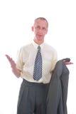 pomoc biznesowy wyrażeniowy mężczyzna Fotografia Royalty Free