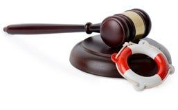 Pomocy prawnej poparcie Obraz Royalty Free