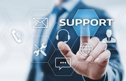 Pomocy Technicznej Centrum obsługi klienta technologii Internetowy Biznesowy pojęcie obraz stock
