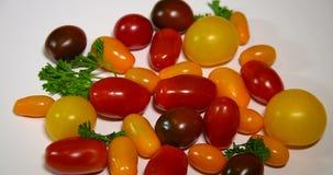 Pomodori stock footage