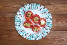 Pomodori-Al forno Stockfotografie