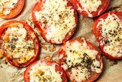 Pomodori al forno Immagine Stock Libera da Diritti